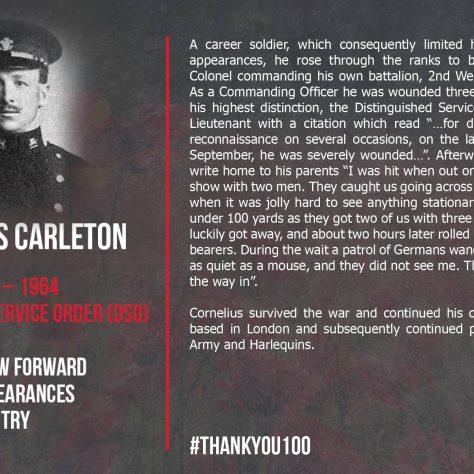 Cornelius Carleton  1884-1964 | Gloucester Rugby