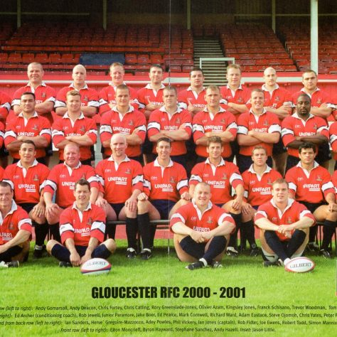 Gloucester Teams in the 2000s