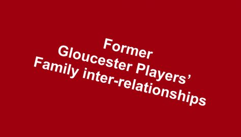 Gloucester Players' Family Inter-relationships