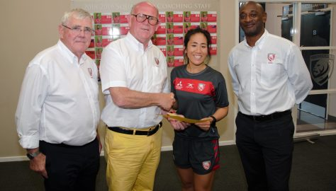 GRPA Charity Cheque Presentations, 2019