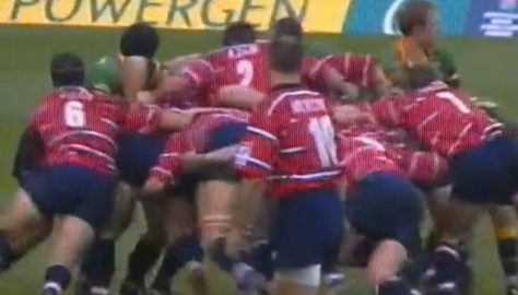 2003 - 5 April;  Gloucester v Northampton;   Powergen Cup Final;   Jamie Forrester Try