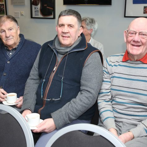 (Back) Peter Ford (Front) John Bayliss,  Malcolm Preedy,  Mike Potter | (c) Tony Hickey