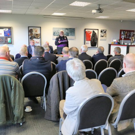 Malcolm King addresses attendees. | (c) Tony Hickey
