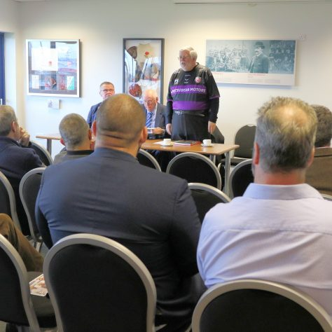 Malcolm King addressing the attendees | (c) Tony Hickey