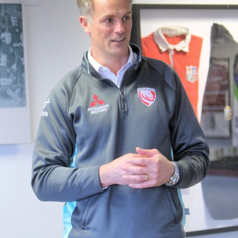 Alex Brown - Gloucester Rugby Commercial Director | (c) Tony Hickey