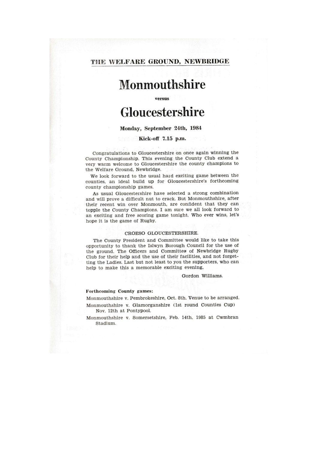 1984 - 85