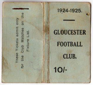 1924-25 Member's Ticket