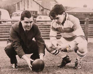 Bill Hook and son Gordon