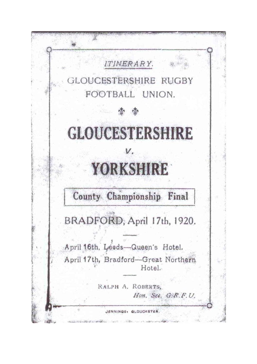 1919 - 20