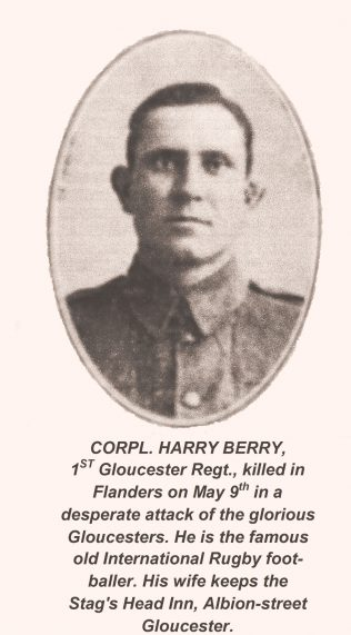 Harry Berry in Military Uniform