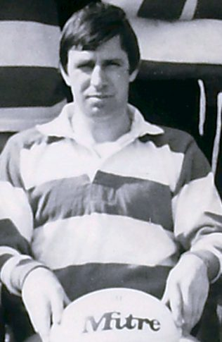 Bob Clewes Gloucester captain 1979-80