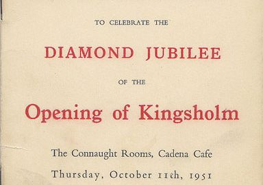1951: Diamond Jubilee Dinner