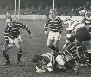 Fred Reed secures the ball
