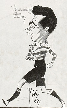 MAC cartoon from The Bystander 28 December 1927