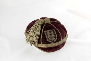 J.W.Bayley's Gloucestershire Cap | Photograph courtesy of his great grandson, Cedric McMillan
