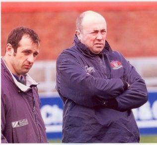 Philippe St Andre & John Brain discuss tactics