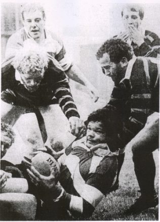 John Orwin wins the ball for Gloucester
