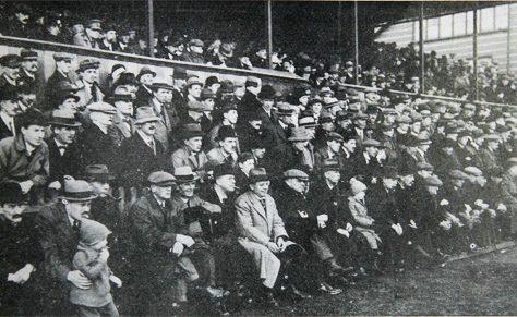 Kingsholm crowd, 1920