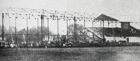 New Stand under construction, 1906