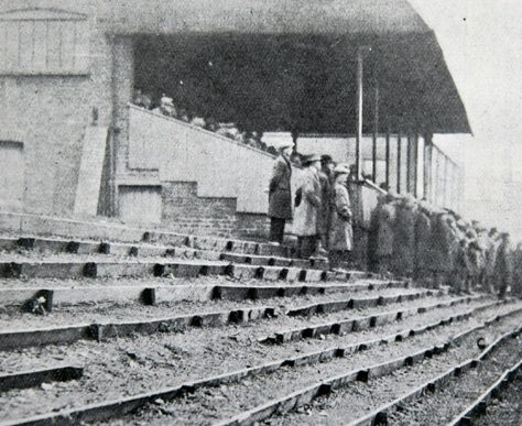 Old Stand and Terrace, 1903