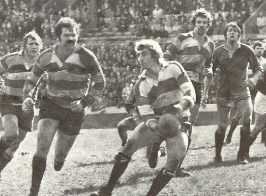 Cup semi-final v Harlequins 1978