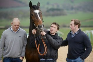Sinbad with Mike Tindall and Monbeg Dude
