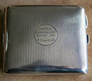 N. Daniell's Cigarette case