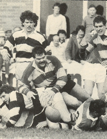 Gloucester v Coventry semi-final 1982: Steve Boyle to the fore | 1982 Cup Final Programme